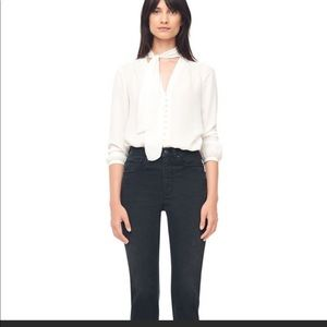 Gorgeous silk Rebecca Taylor top sz 4